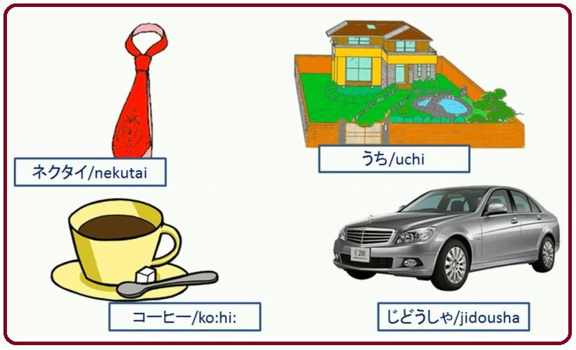Японский язык Японские слова