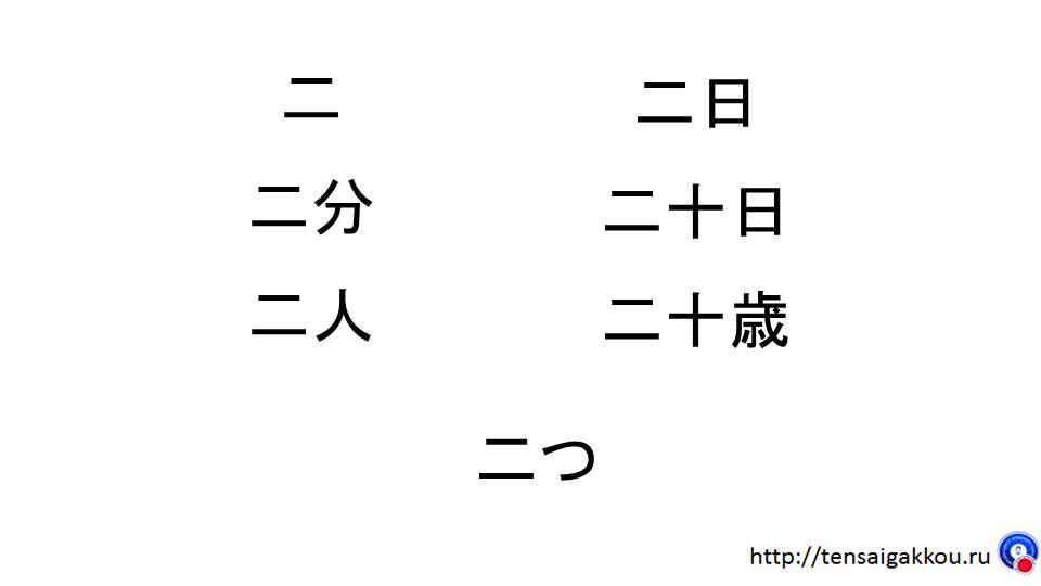 японские иероглифы читать
