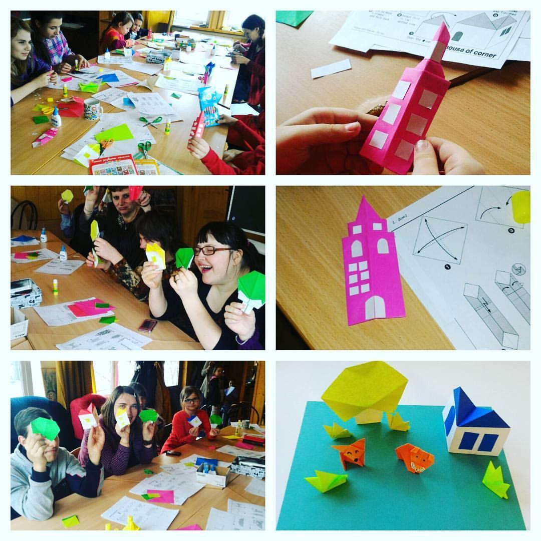 Дом инвалидов мастер класс по оригами