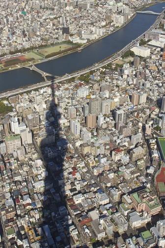 Япония Небесное дерево Токио
