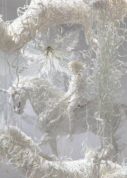 японские скульптуры Мотохико Одани