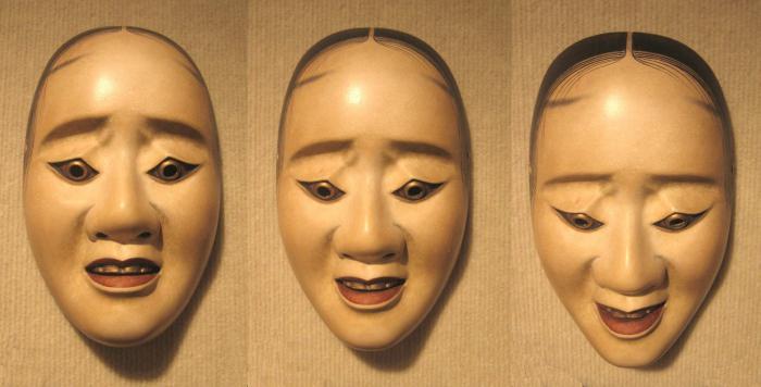 Японские маски. Театральные японские маски