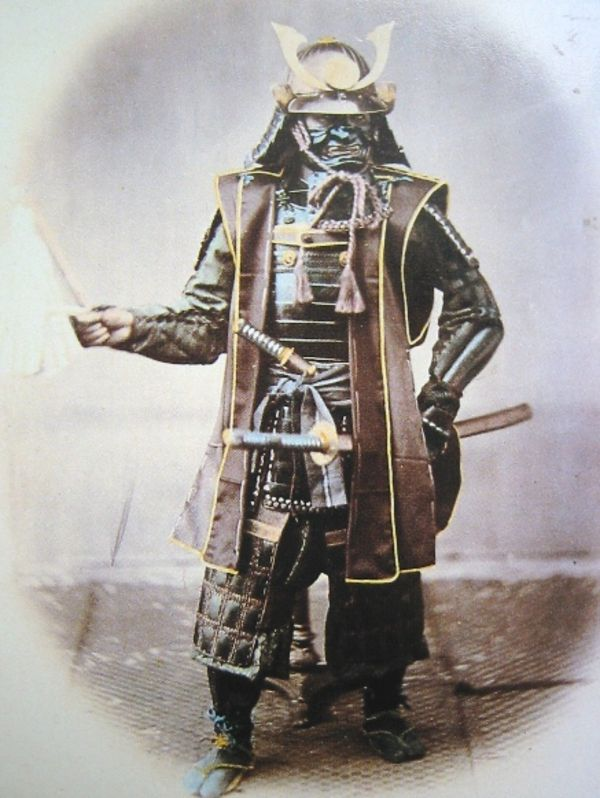 Японские маски. Япония. Самурайская маска