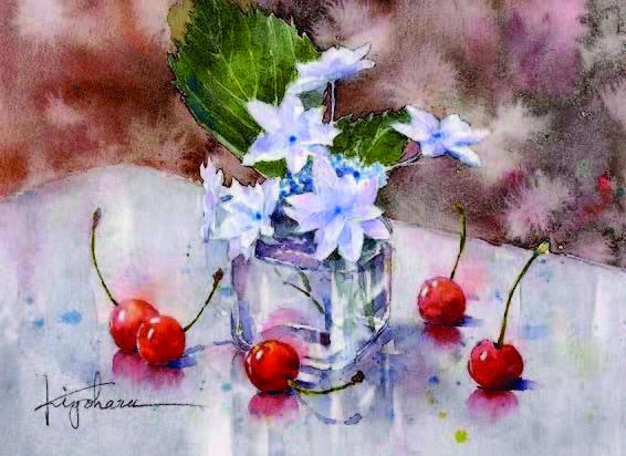 Akvarelnye_peyzazhi_Kiyokharu_Narazaki