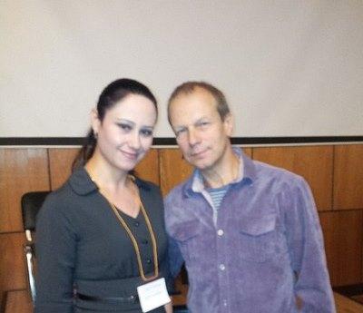 Светлана Бычкова и Дмитрий Петров