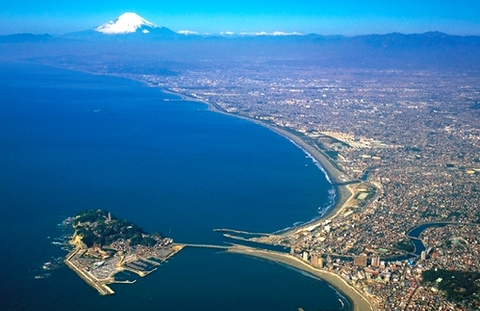 Япония остров Эносима