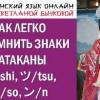 Катакана. Японская азбука. Как запомнить знаки катаканы シ/shi, ツ/tsu, ソ/so, ン/n